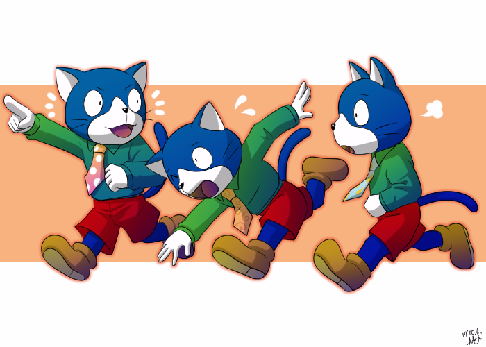 しまじろう 猫 の 三 兄弟