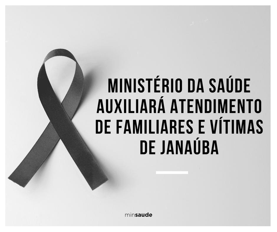 .@minsaude libera R$ 5 milhões para assistência às vítimas da tragédia de Janaúba (MG). Confira: https://t.co/PstvuXRcBi
