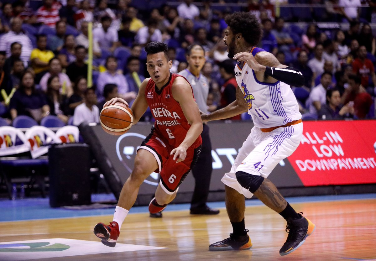 Sports Desk On Twitter Pba Ginebra Retakes Series Lead Over Tnt After Heated Contest 106 103 Paodelrosario