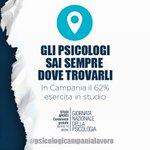 Oltre 250 #Studiaperti in #Campania  per consulenze gratuite dal #9ottobre al 14 ⓘ https://t.co/DWSl6hG1Tr  #psicologicampanialavoro