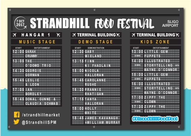 Our top tip for the weekend, the #strandhillfoodfest is a foodie's dream day out in the coolest location ever  https://www. strandhillfoodfestival.com /   <br>http://pic.twitter.com/GFjDzTC6bM