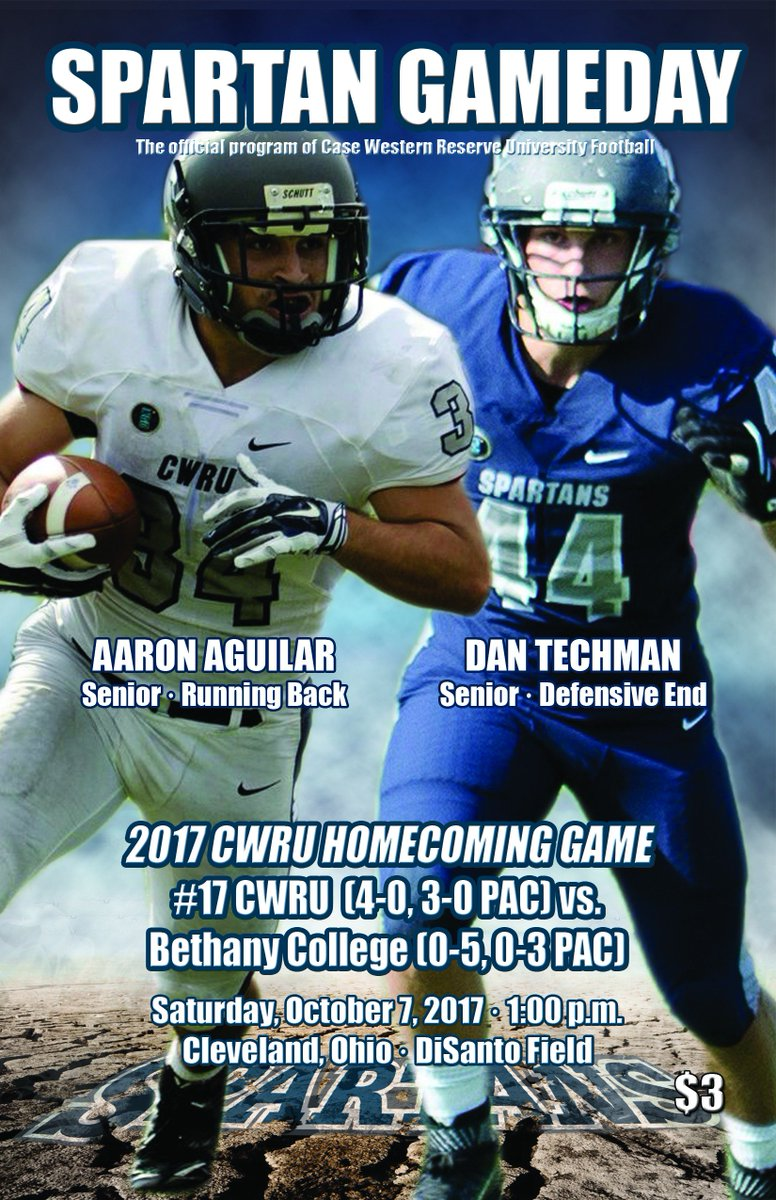 Cwru Spartans On Twitter Check Out This Week S Cover Of Spartan