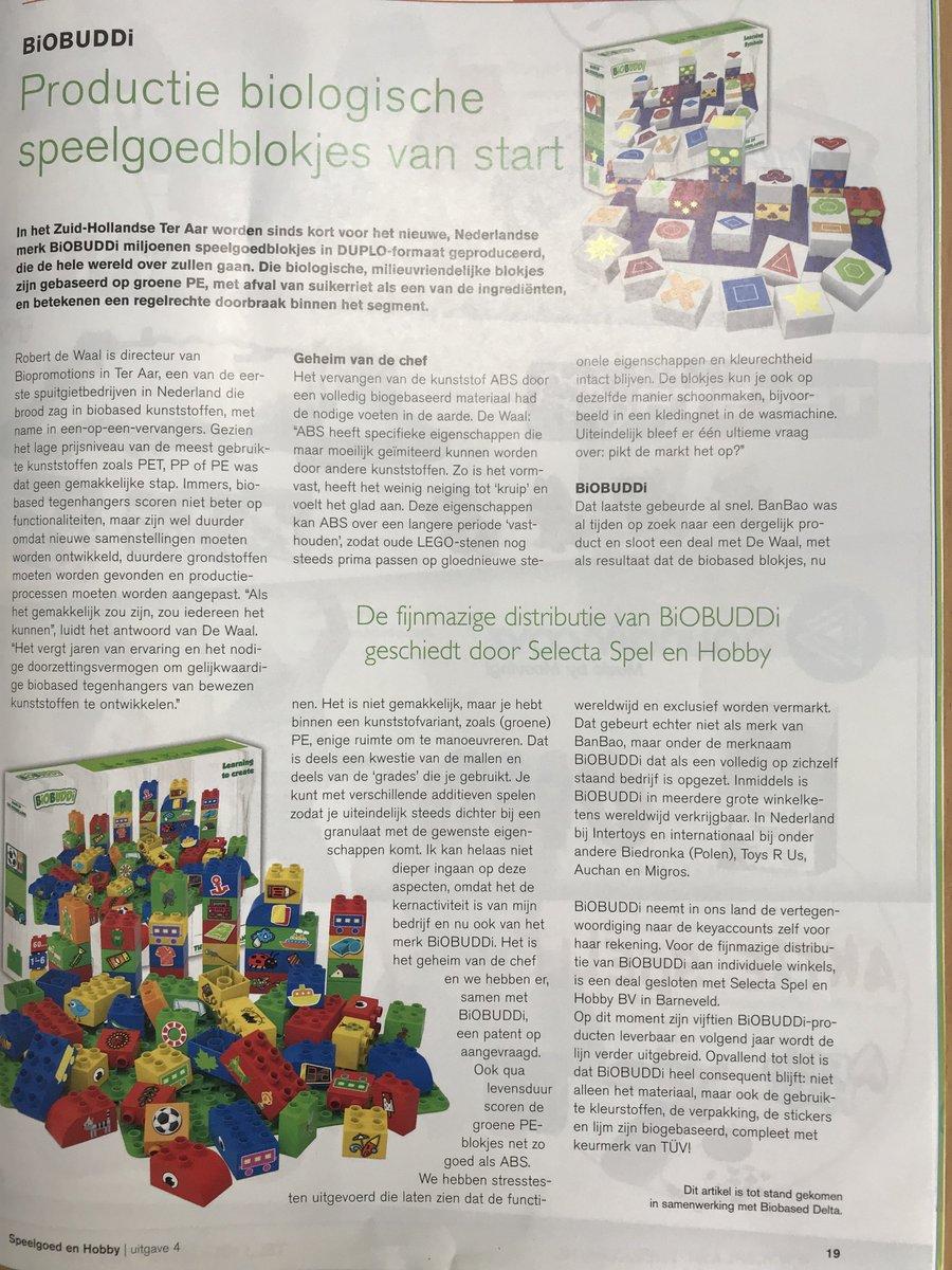 Biobuddi On Twitter Nice Article About Biobuddi In A Dutch Toy