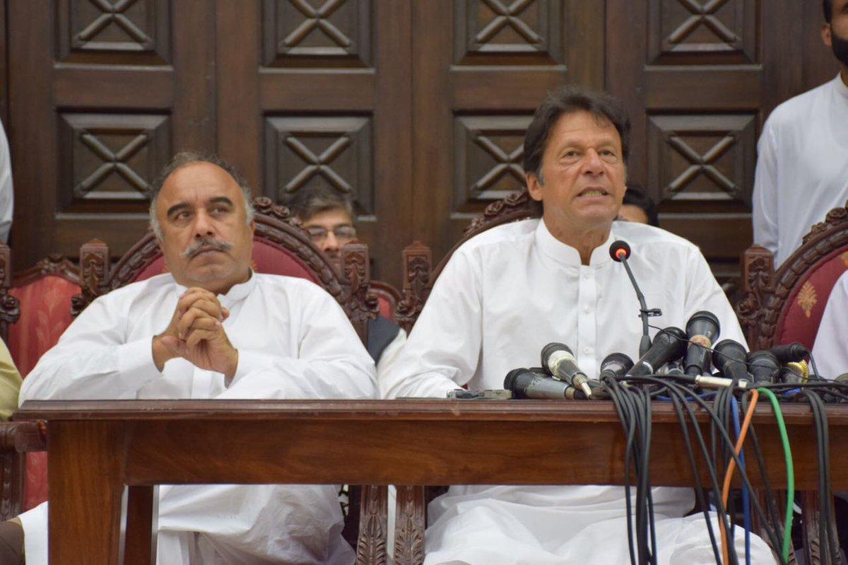 """Shah Farman on Twitter: """"Chairman Imran Khan demands the immediate merger  of FATA and KP, #KPKUpdates #KPFATAMerger… """""""