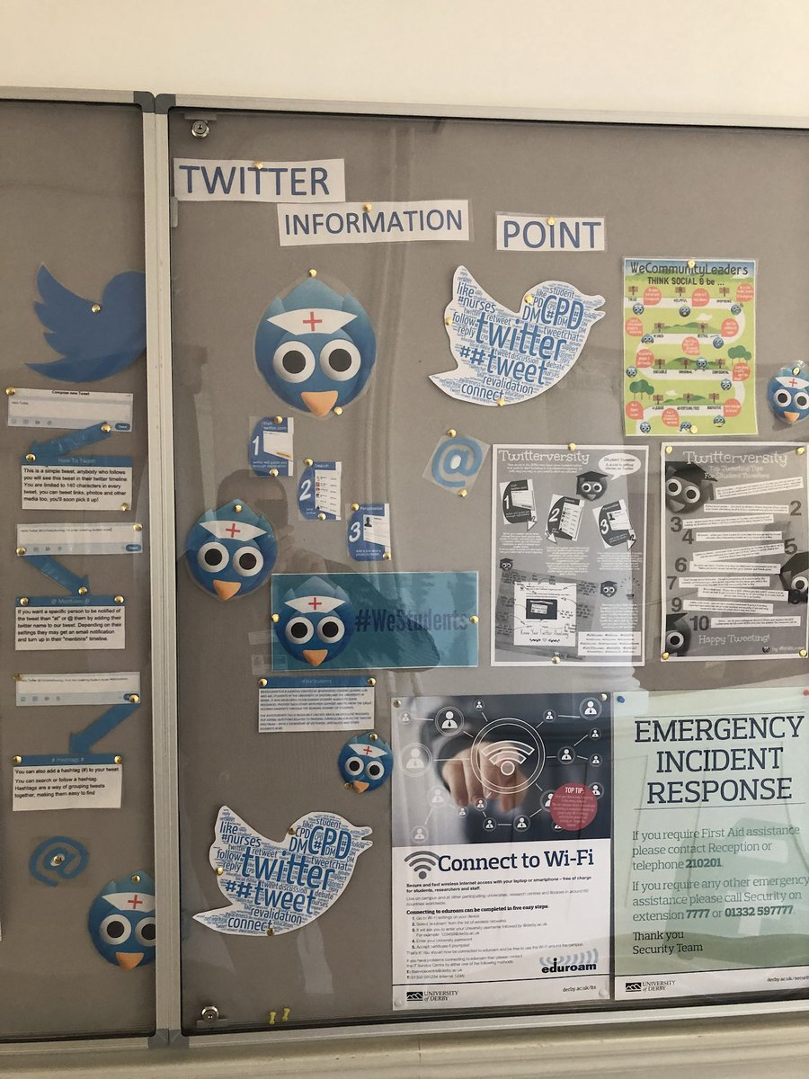 @flamingcopper @abigailstdnurse have worked hard on a Twitter display! Thanks guys :) #UoD <br>http://pic.twitter.com/3KP7dgWtG8