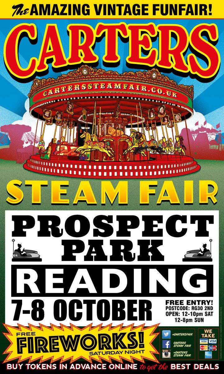 Carters Steam Fair On Twitter Open Now Prospect Park Reading