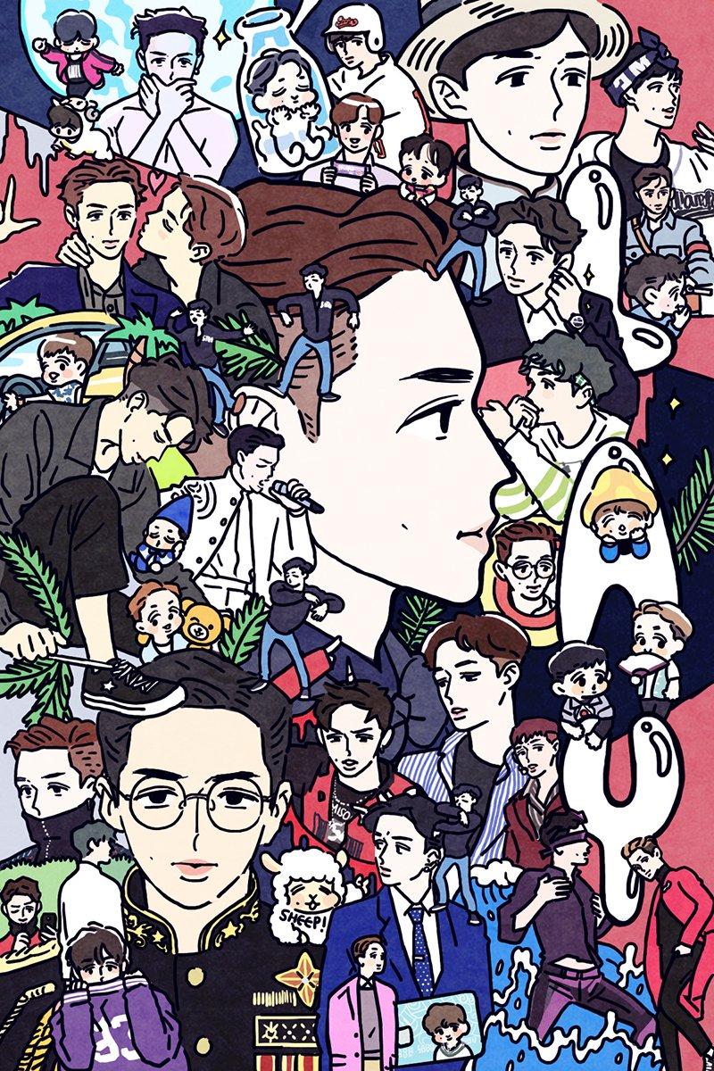 왕중왕 양중양 차이나킹 차이나쉽 씽이 생일 츄카해🐏  #HAPPYLAYDAY #HappyYixingDay  #LAY02SHEEP  #레이야생일축하해  팬북 :