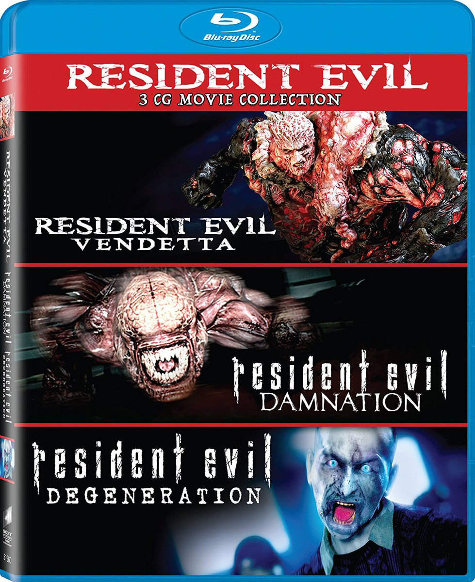 Zombie Research Society On Twitter All Three Of The Animated Residentevil Movies Are Now Available For Pre Order As A Single Blu Ray Set Via Amazon Https T Co Rmkbgtnc2t Https T Co Ovxp9r0o4m