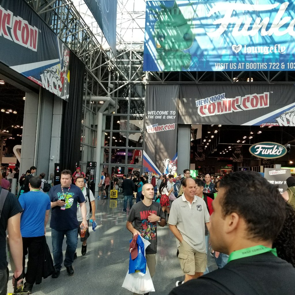 It's on!!! #NYCC