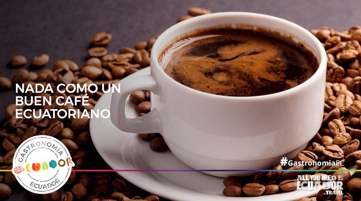 El café ecuatoriano es reconocido a nivel mundial por su alta calidad y sus magníficos sabores. #GastronomíaEC
