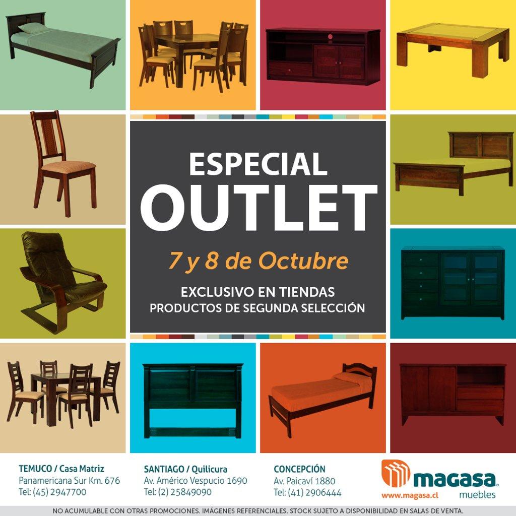 Muebles Magasa On Twitter Ven A Nuestro Especial Outlet Este 7 Y  # Muebles Paicavi Concepcion