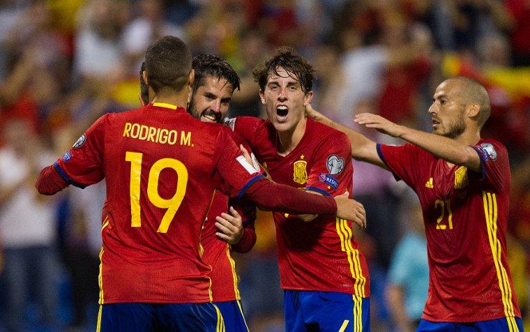 Video: Tây Ban Nha vs Albania