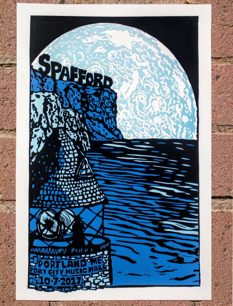 Spafford On Twitter Official Print For Tomorrow Night In Portland