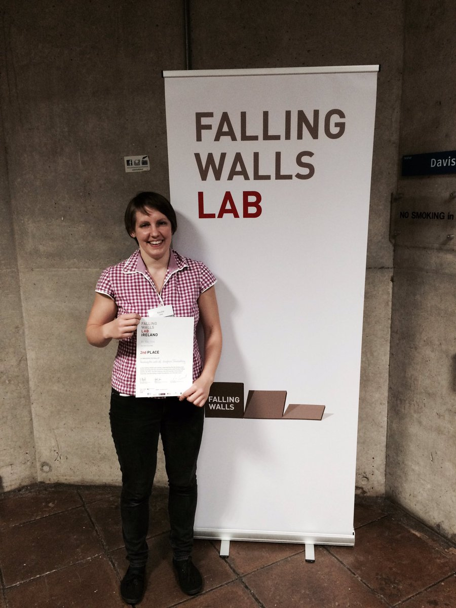 test Twitter Media - Congrats to Dr. Eva Eibl who came 2nd at the 'Falling Walls' competition at TCD tonight. Her talk was on volcano eruption forecasting https://t.co/5bcJ8HeA01