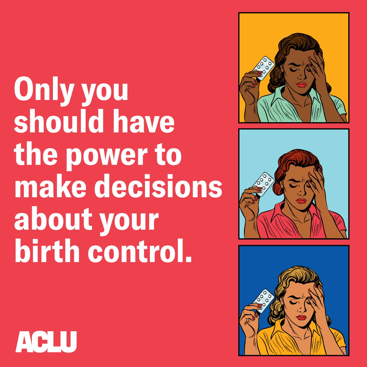 BREAKING: We're suing the Trump administration to block new rules allowing employers to deny insurance coverage for birth control.