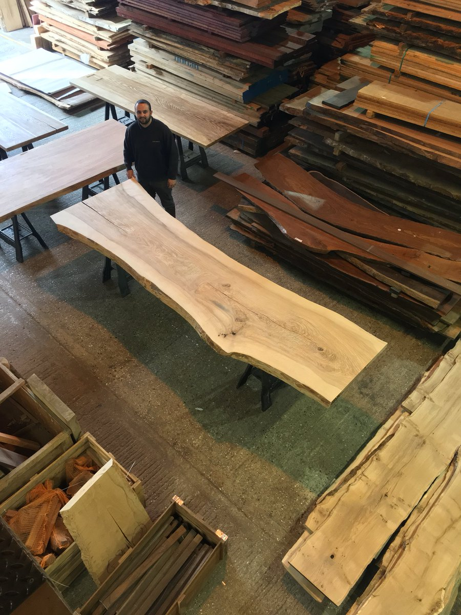 All set up and ready for tomorrow, opening hours from 9:00-12:00. #surreytimbers #liveedgetabletops #hardwoods #lumber <br>http://pic.twitter.com/KS62GvCBmU