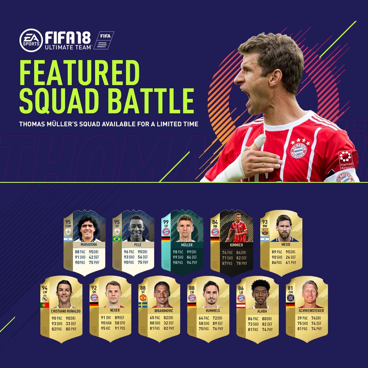 Könnt ihr es mit meinem #FUT-Team aufnehmen? 💪⚽🎮 #FIFA 18 #ad #esmuell...