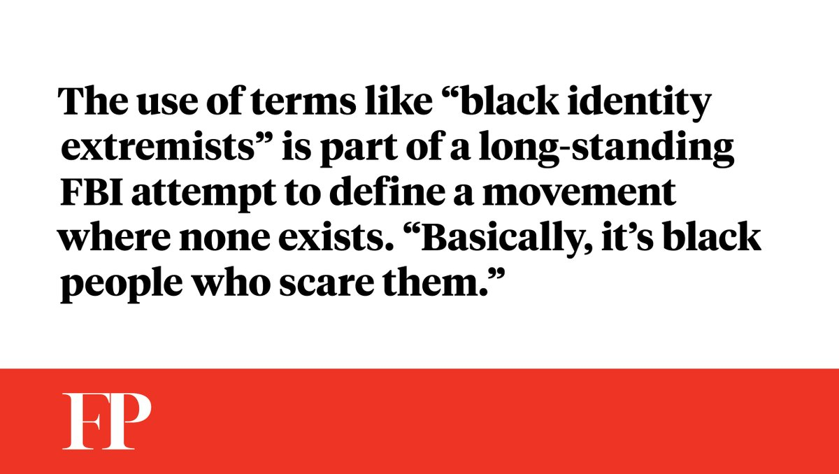 "Nine days before #Charlottesville, the FBI said ""black identity extremists"" are the new terror threat to worry about http://atfp.co/2y5PXSF"