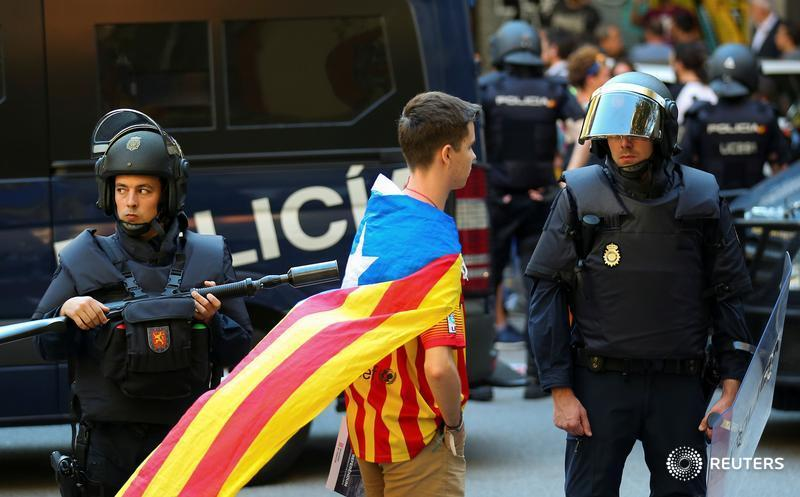 Spain apologises for police crackdown on Catalonia's independence referendum. https://t.co/ygkLypIx4e