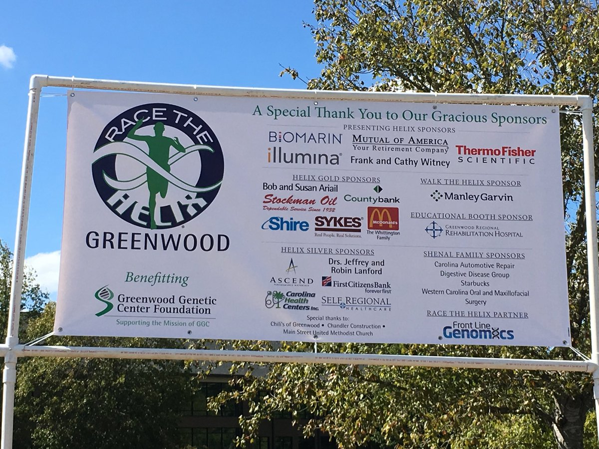 Greenwood Genetic On Twitter We Our Sponsors Join Us