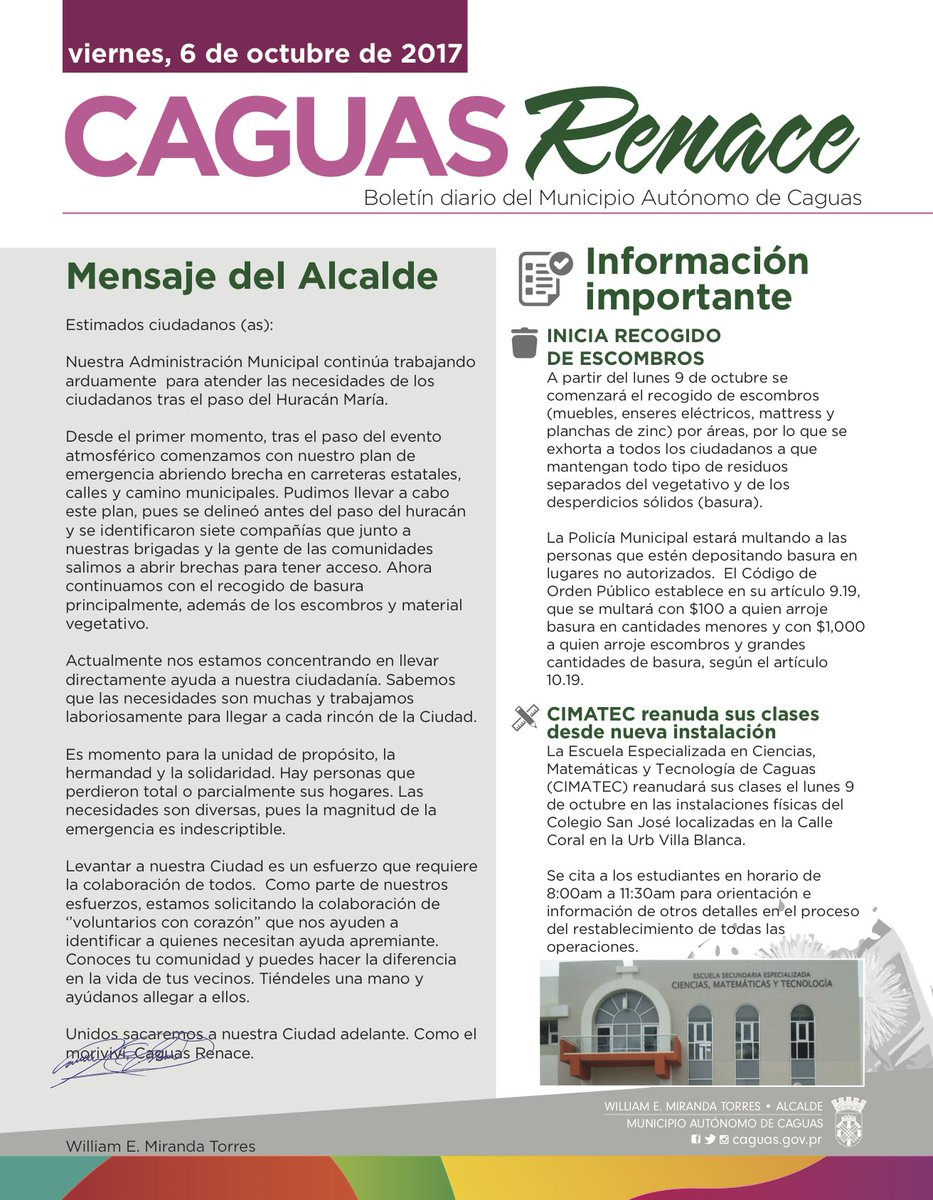 CAGUAS on Twitter: \