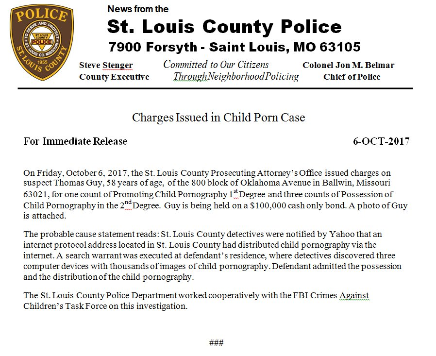 St  Louis County PD on Twitter:
