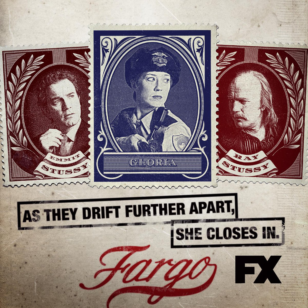 The law divides the Stussy brothers. #Fargo