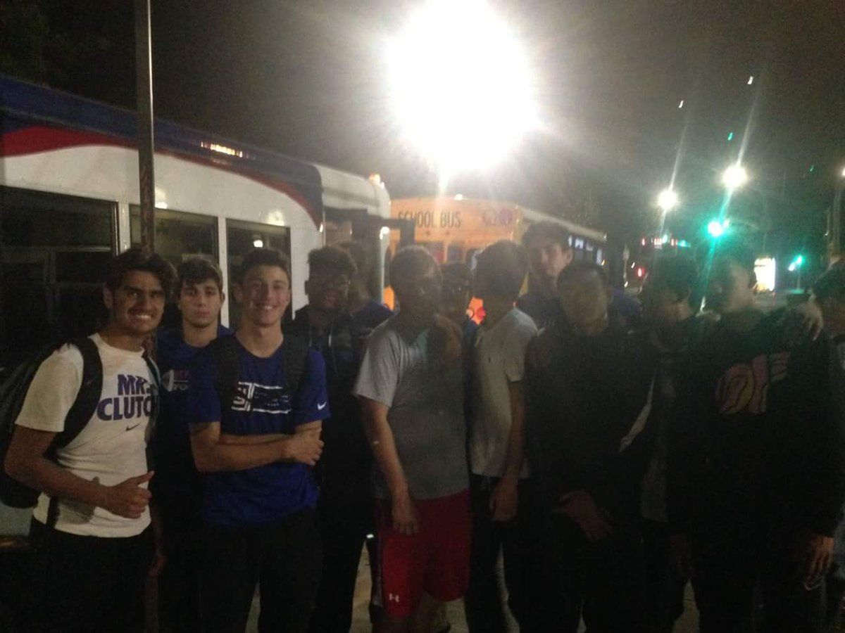 St Francis Prep Ftbl Our 2017 Terriers Went On A Midnight Run Last Night In NYC To Offer Helping Hand Those Need