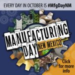 Take a look at the @MFGDay Events in New Mexico #MFGDAY17 Every day in October is #ManufacturingDay  https://t.co/2uCPFIYhud #Manufacturing