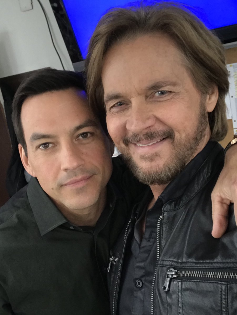 Stephen Nichols On Twitter Take 2 On The Stephen Tyler Photo We Had Scenes Together Today On Nbcdays Likeweneverparted Generalhospital