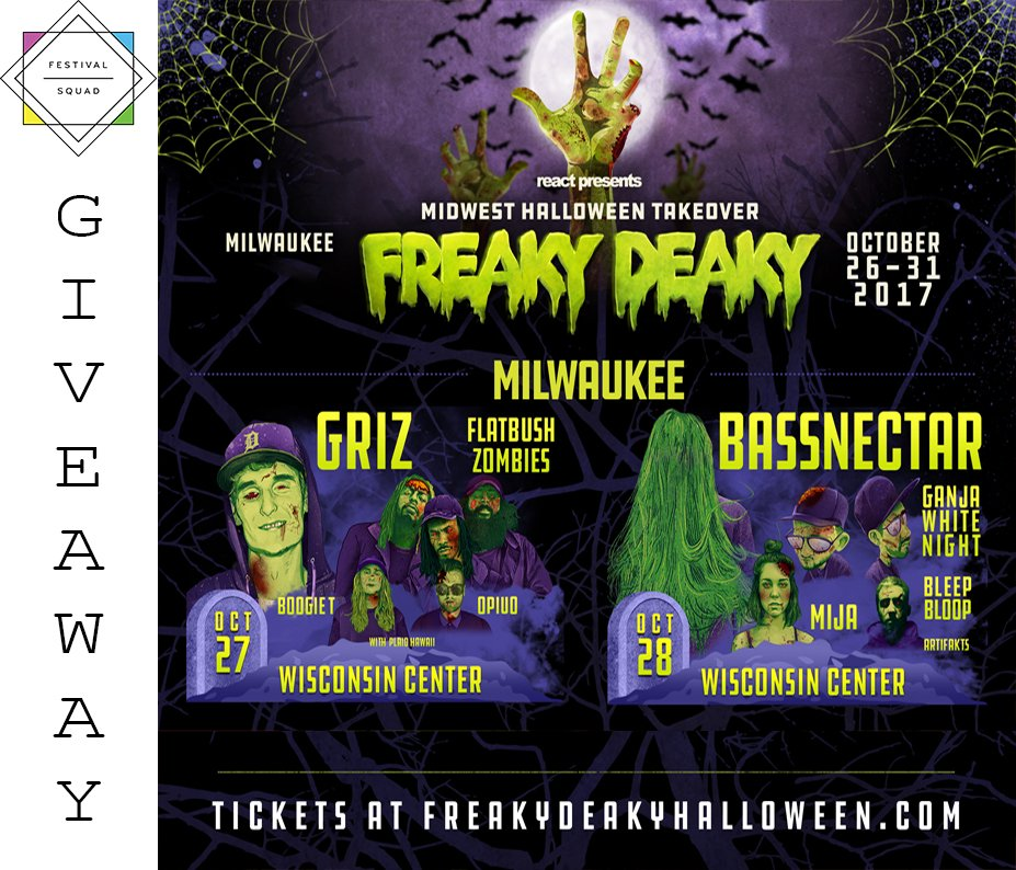 in chi to enter httpwwwfestivalsquadcom201709win tickets freaky deaky halloween bassnectar griz dillion francis pictwittercomwihda00rsi