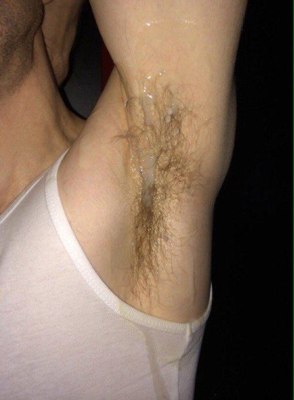 Sweaty armpits fetish
