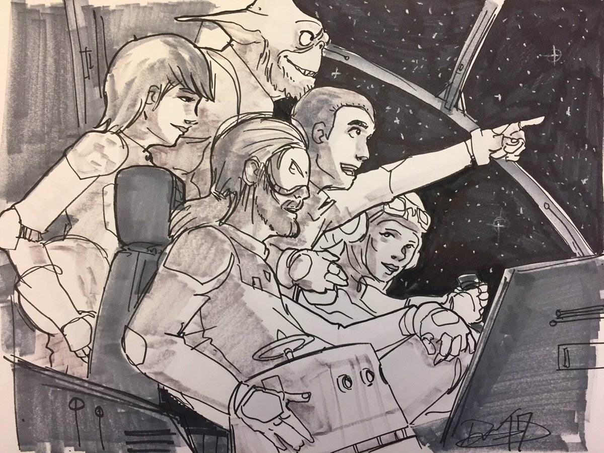 Space Family   #StarWarsRebels https://t.co/uzbXC0cGI7
