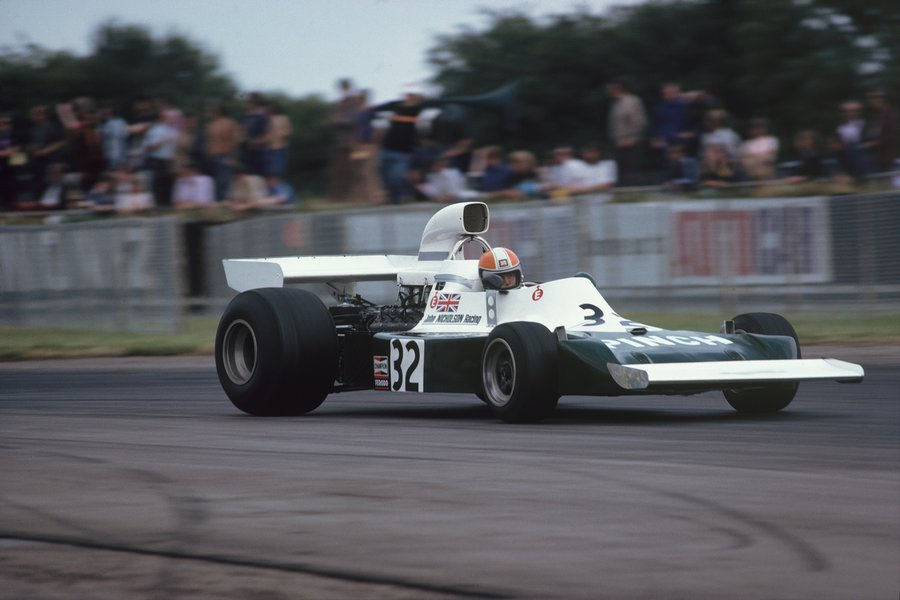 John Nicholson 🇳🇿 in Lyncar 006 made his only #F1 Championship start at Silverstone. #OTD 1975 #BritishGP