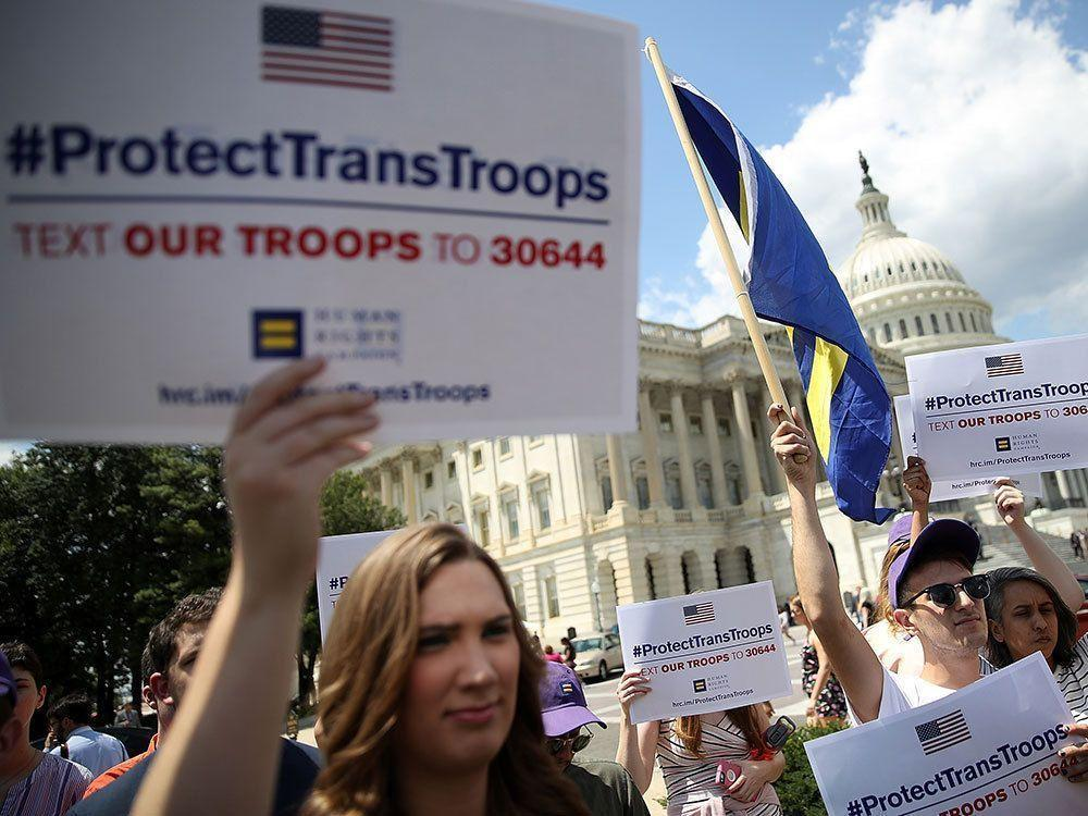 U.S. ends workplace protections for transgender people under civil rights act https://t.co/rOj2Qahmmc