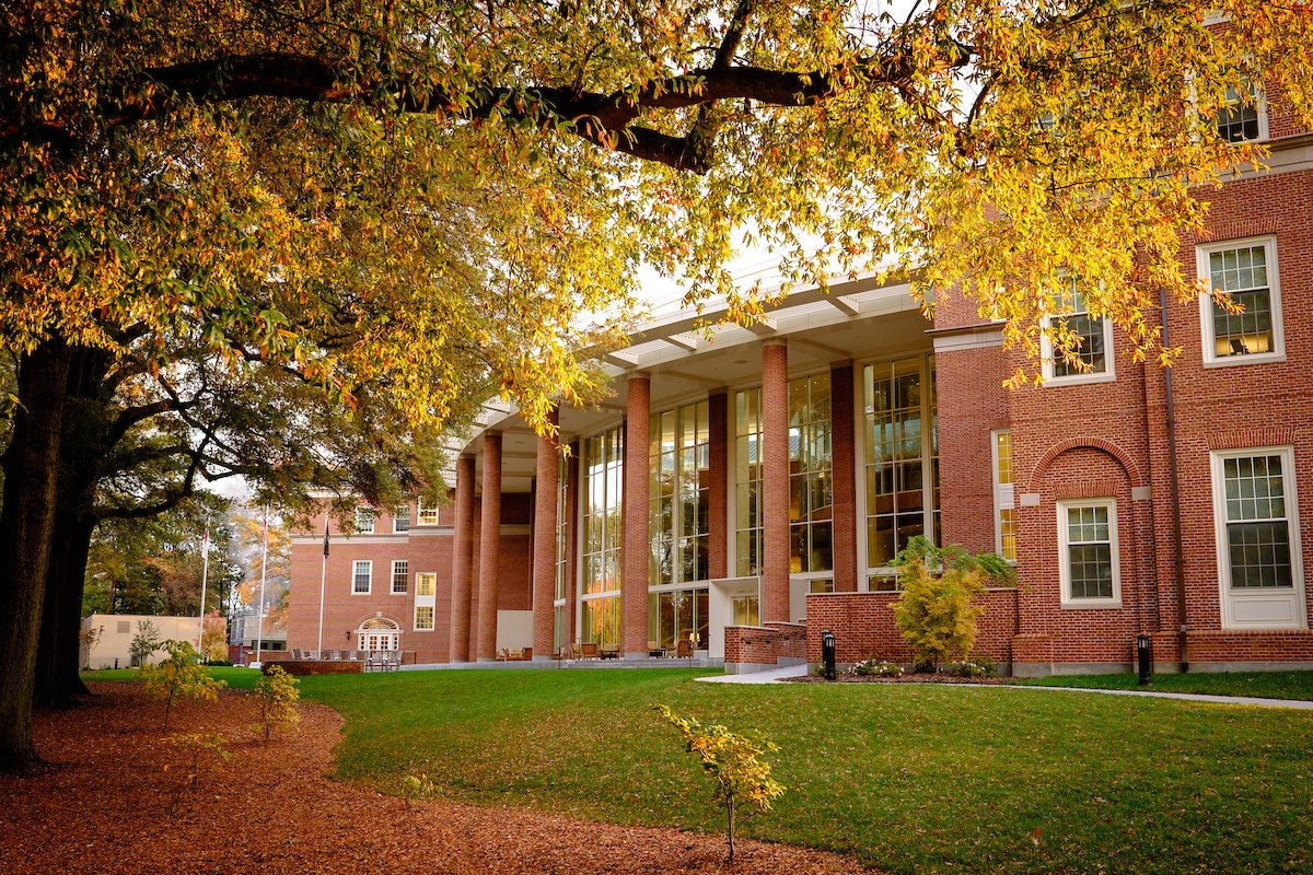 """Autumn carries more gold in its pocket than all the other seasons"" - Jim Bishop #wakeforestbiz"