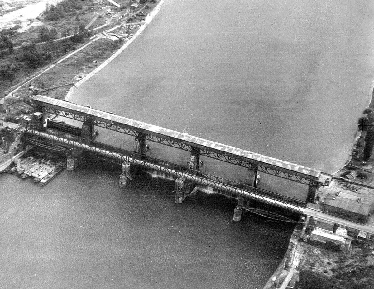 RG Poulussen On Twitter OTD In 1944 13 Lancasters Of 617 Dambuster Squadron Disabled The Lock Gates At Kembs With Tallboy Bombs