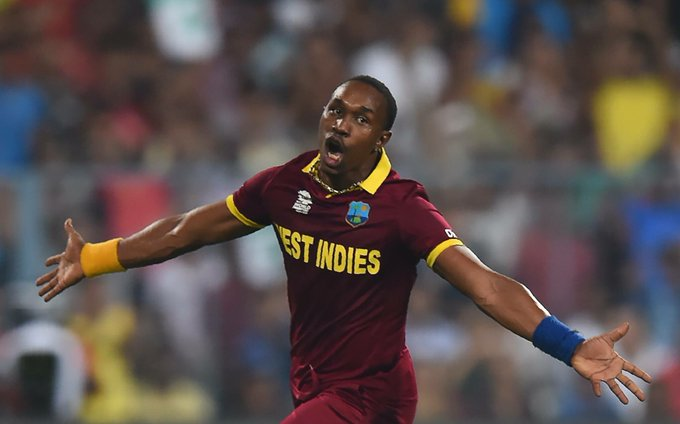 Happy Birthday Dwayne Bravo: Windies champion allrounder; two-time World T20 hero. He\s 34 not out today.