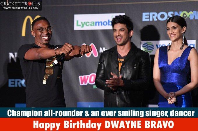 Happy Birthday Dwayne Bravo