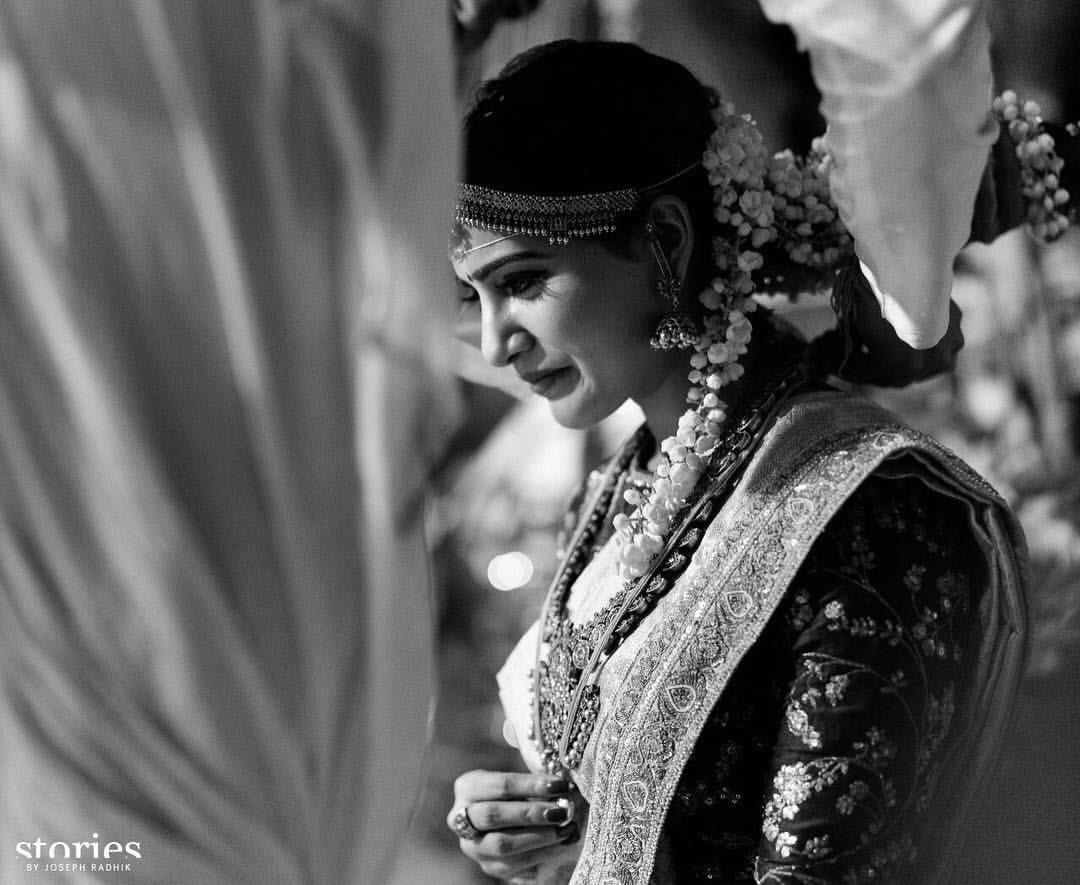 samantha marriage photos