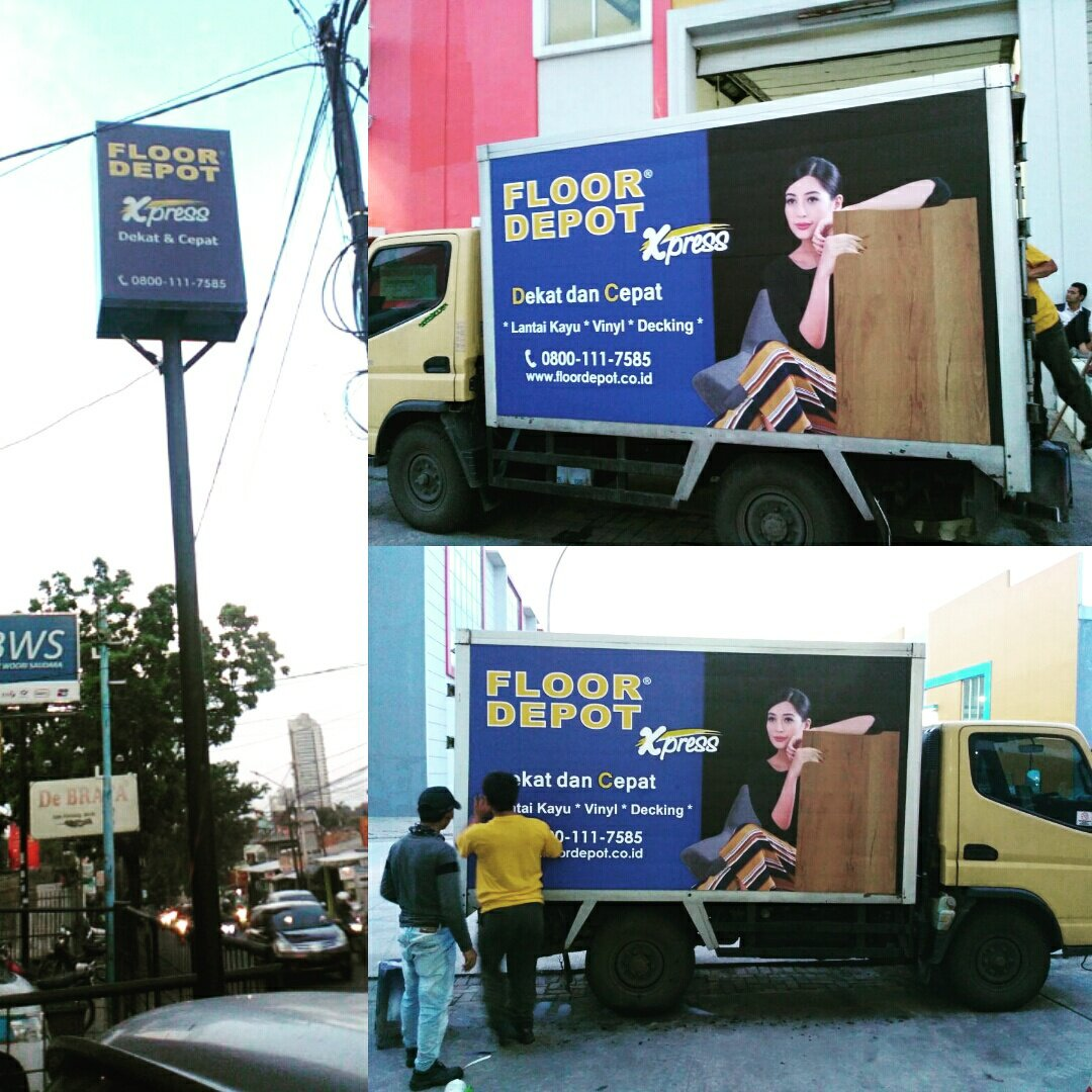 Reklame Jakarta On Twitter Neonbox Signbox Car Branding Floor