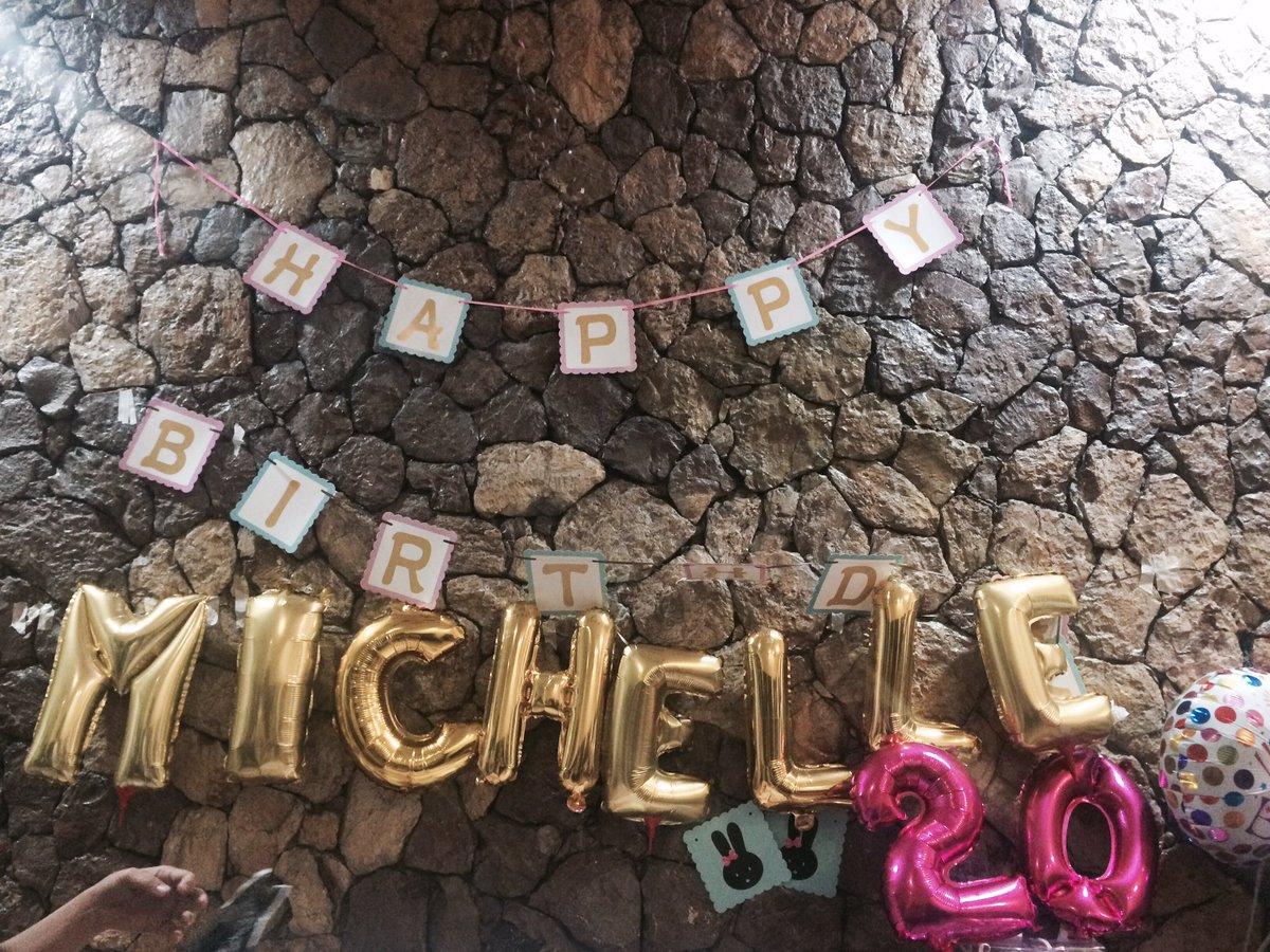 Party ATM #Michelle@20 <br>http://pic.twitter.com/43k65rmq7E