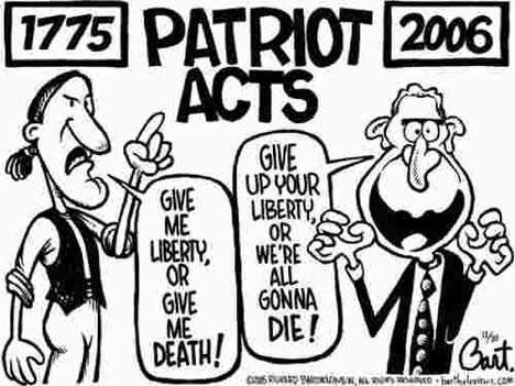 Patriot Act is still the law.