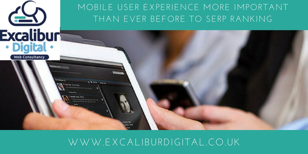 #Mobile #userexperience more important than ever before to #SERP ranking  https:// buff.ly/2wRqKHy  &nbsp;  <br>http://pic.twitter.com/dab1EKxkTn