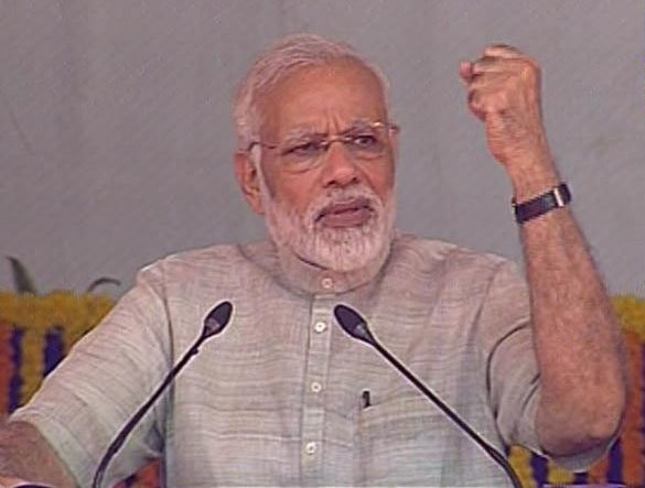 Madhavsinh as CM would come to Jamnagar to inaugurate a single water tank: PM at Dwarka