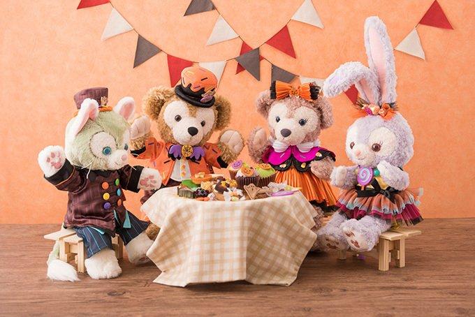 ディズニー「ダッフィー&フレンズ」のハロウィングッズ、ダッフィーやステラ・ルーがお菓子に仮装 -