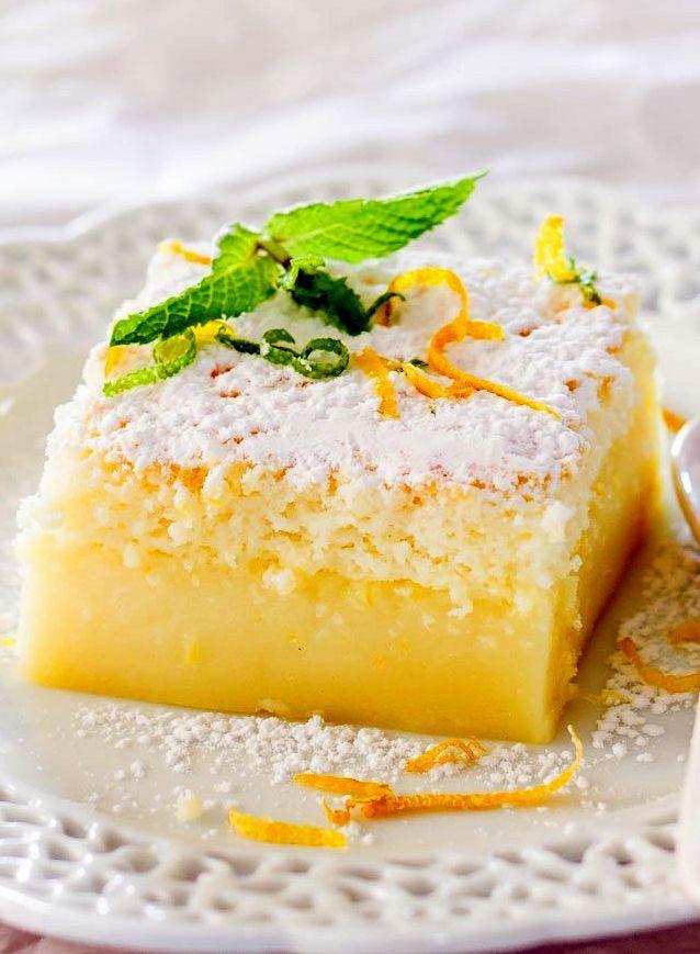 Рецепты пирожные простые