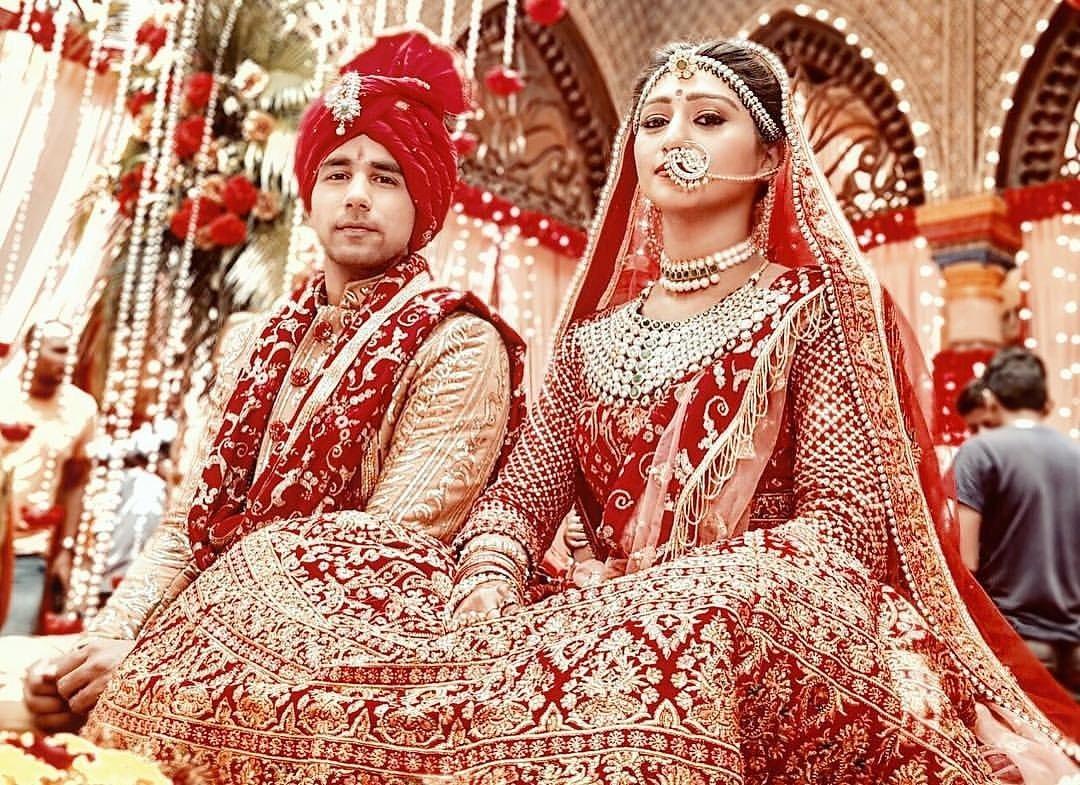 Yeh Rishta Kya Kehlata Hai, YRKKH, Naksh, Keerti, wedding, photo, pic, Hd, Photo, Mohena Singh, Rishi Dev
