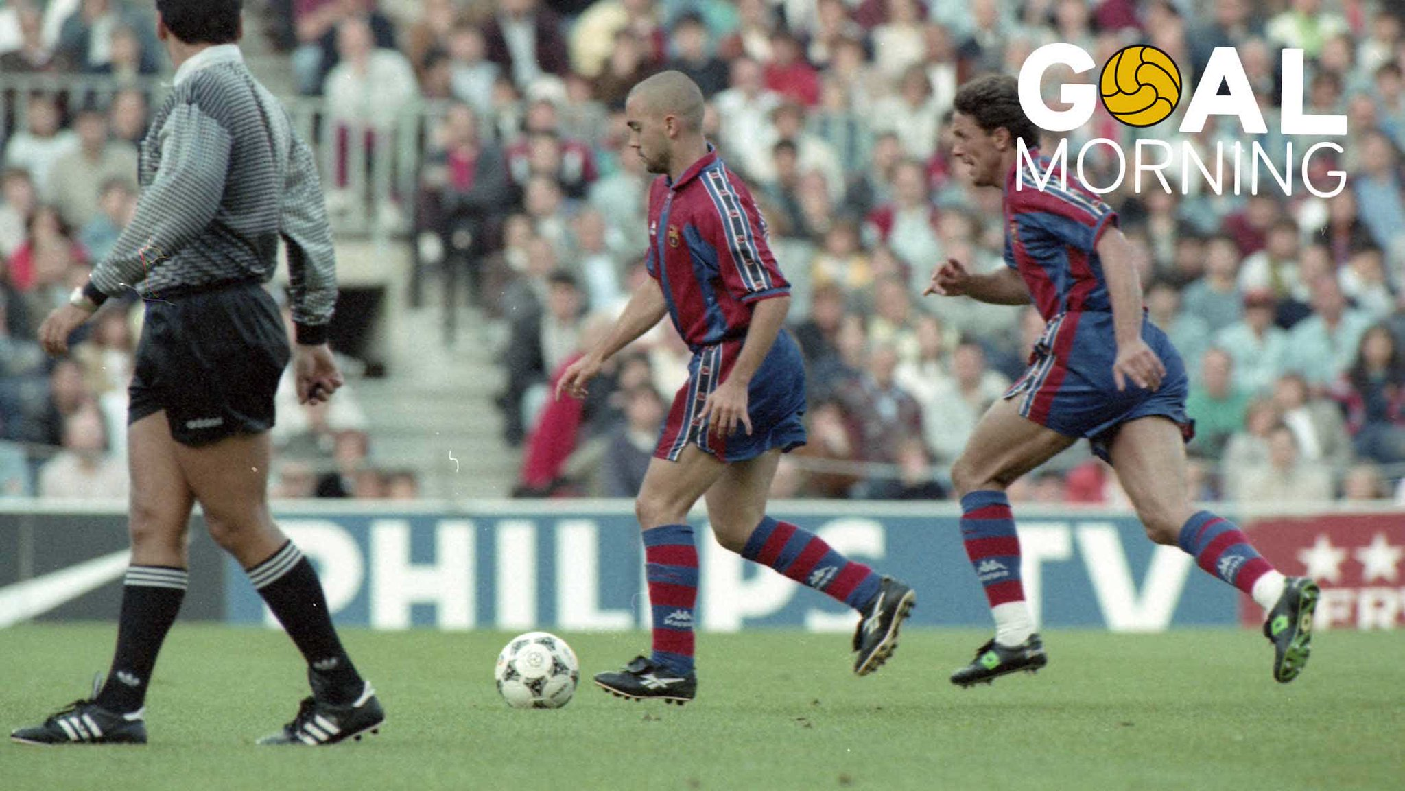 G⚽️AL MORNING!!!  Today marks 22 years since this Ivan de la Peña goal https://t.co/QU03IL7nJf