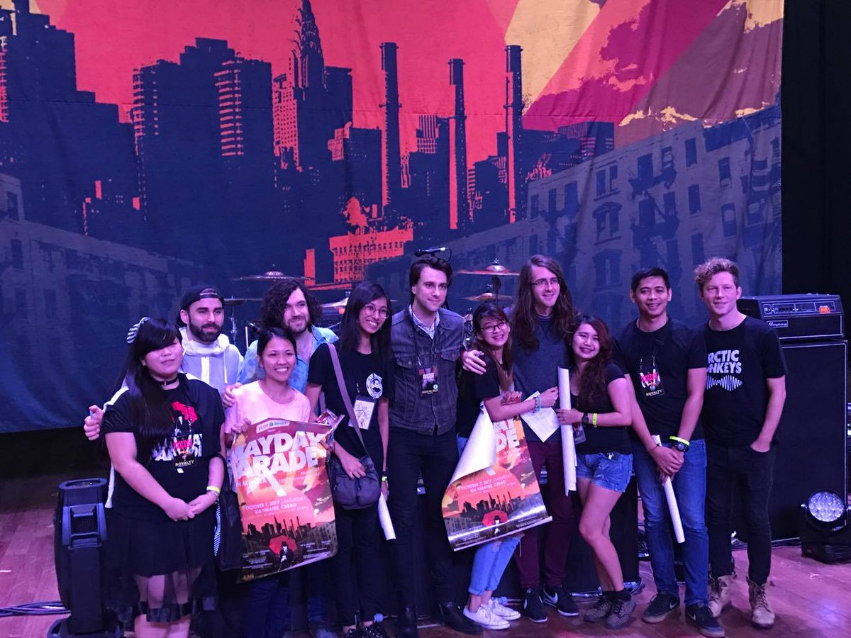 Pulp Live World On Twitter Meet And Greet With Maydayparade